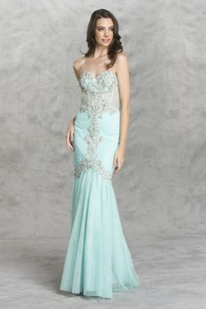 Aspeed Design mint mermaid prom dress for Sale in Lake Elsinore, CA