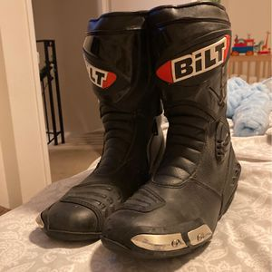 Bilt Motorcycle Riding Boots for Sale in San Marcos, CA