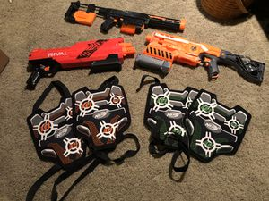 Lot of nerf guns for Sale in Hampshire, IL