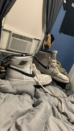 "Jordan Retro 1 ""White Elephant"" size 10.5 for Sale in Lowell, MA"