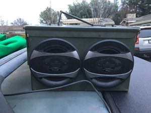 Ammo can speaker with amp for Sale in San Ramon, CA