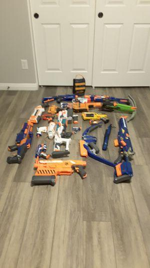 Nerf gun lot for Sale in Gilbert, AZ