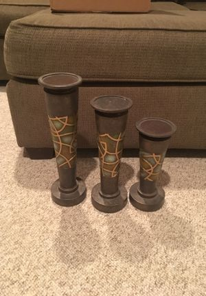 Set of 3 tier candle holder for Sale in Bowie, MD