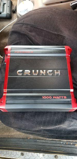 Crunch 1000 Watts Amplifier PZX1000.2 for Sale in Baldwin Park, CA