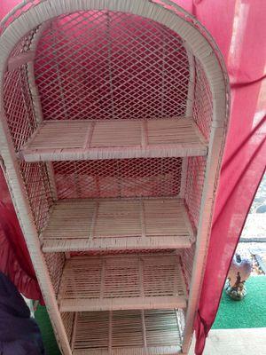 Wicker shelf for Sale in Richmond, VA