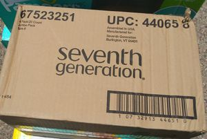 Seventh Generation Diapers Size 6 80 count for Sale in Glendale, AZ