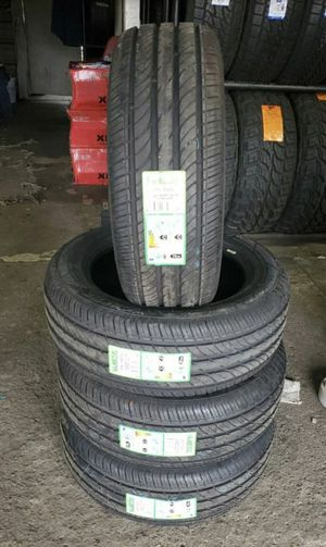 225/55/17 new 4 tires for $340 with balance and installation we also finance {contact info removed} Dorian 7637 airline dr houston TX 77037 for Sale in Houston, TX