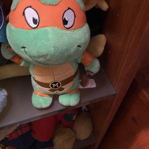 Small Teenage Ninja Turtle Plush Doll for Sale in Suffolk, VA