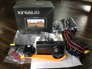 D2 2.5K Dual Dash Cam, 1440P&1080P Front and Rear Camera for Cars for Sale in Plano, TX