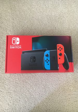 BRAND NEW Nintendo Switch 32GB Console (Newest Model) for Sale in Lawrence Township, NJ