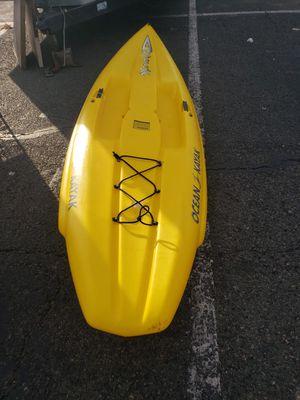 Ocean kayak Nalu Stand up paddleboard kayak yellow for Sale in Downey, CA