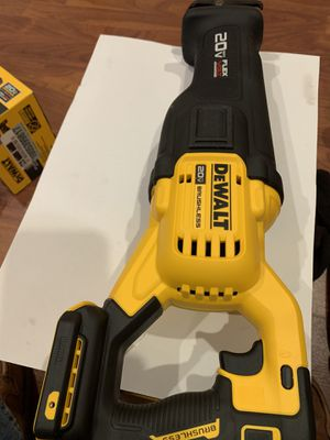 20 v saw dewalt brushless flex for Sale in Bridgeview, IL