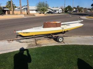 14 foot Laser Sailboat 1974 for Sale in Scottsdale, AZ