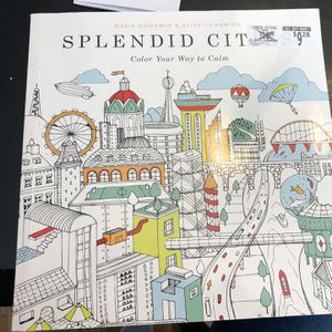 Splendid Cities Adult Coloring Book for Sale in Boston, MA