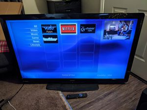 Philips 55 in 1080p TV for Sale in Long Beach, CA