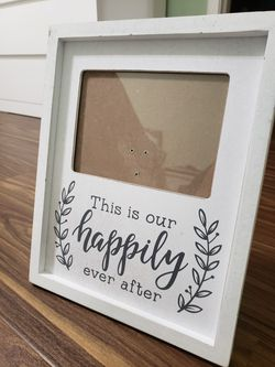 Wedding picture frame for Sale in San Angelo,  TX