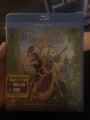 Tangled (Blu-ray + DVD) for Sale in Lancaster, CA