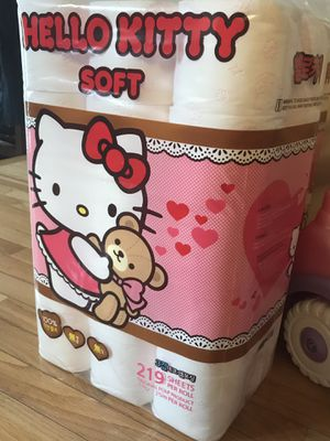 Hello kitty toilet paper 30 rolls for Sale in West Springfield, VA