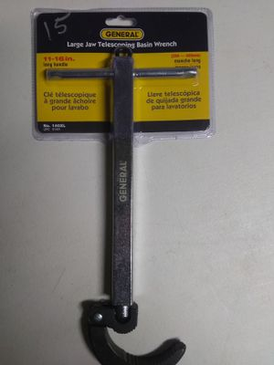 Large jaw telescoping basin wrench for Sale in Fresno, CA
