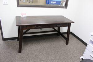 Large Rustic Brown Office Desk, H675-44 for Sale in Santa Fe Springs, CA