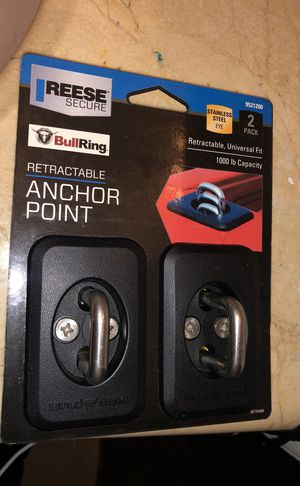 Reese secure bullring anchor point $10 brand new for Sale in San Francisco, CA