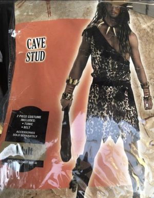 ADULT CAVE MAN COSTUME for Sale in Ceres, CA