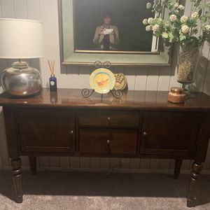 Pottery Barn Console Table With Storage for Sale in Annandale, VA