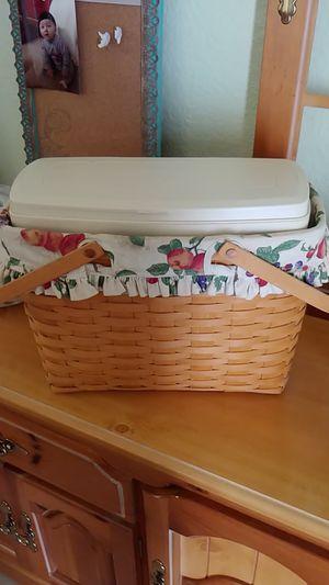 Longaberger Basket for Sale in Menifee, CA