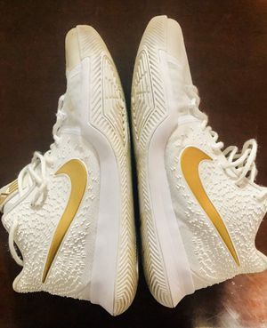"""NIKE KYRIE 3 """"FINALS"""" GOLD - size 13 for Sale in Beverly, MA"""
