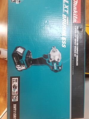 Makita brushless 1/2 impact wrench kit battery 2.0 and charger m18 for Sale in Chicago, IL