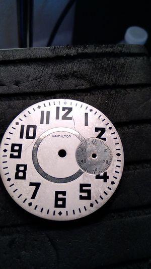 Vintage Pocket watch dial for Sale in Hampton, VA
