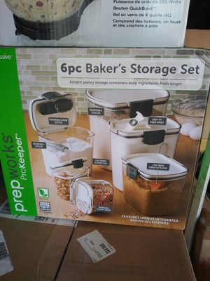 *NEW Prep Works 6pc Storage containers for Sale in Anaheim, CA