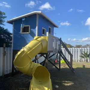 Kids clubhouse, must take apart on your own and carry everything on your TTown . Sturdy built , selling because will be moving. Includes swing sets a for Sale in Cape Coral, FL