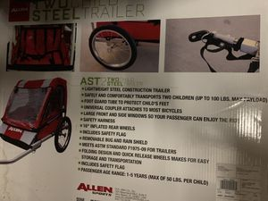 AST 2 Two steel trailer bike attachment for Sale in Miramar, FL