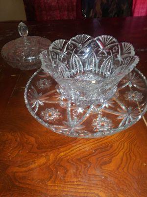 Anchor Hocking prescut glassware for Sale in Charlestown, IN