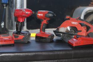 HILTI High End power tools set! for Sale in Tucson, AZ
