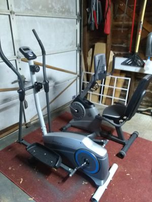 Elliptical and stationary bike for Sale in Lincoln, NE
