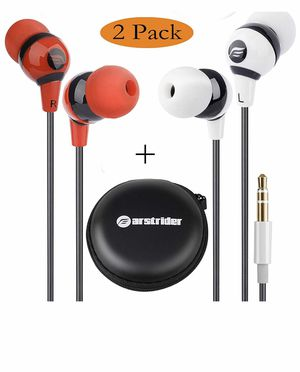 FARSTRIDER. 2Packs Stereo Earphones for Sale in Pompano Beach, FL