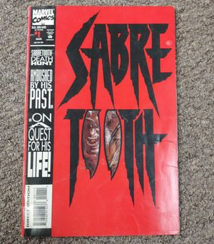 1993 Saber Tooth Comic 1st Series for Sale in Burlington, NC
