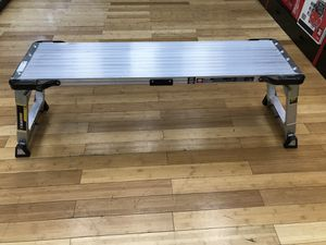 Gorilla Ladders Adjustable Height Pro Scuffold for Sale in Ashland, MA