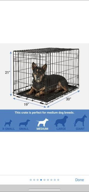 Medium Dog Crate for Sale in Fort Meade, MD