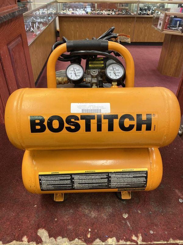 Bostitch 4gal compressor