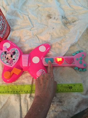 Minnie Mouse toy guitar for Sale in Cocoa, FL