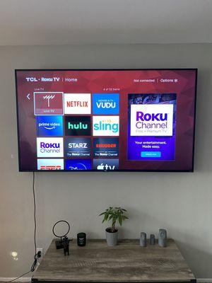 """75"""" TCL 4K UHD SMART TV for Sale in Redlands, CA"""