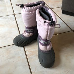 Sorel - Kids Winter/Snow Boots Size 1 Girl - Hardly Used - Good Condition for Sale in Huntington Beach, CA