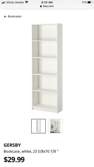 Two IKEA bookshelves for Sale in Plainfield, IL