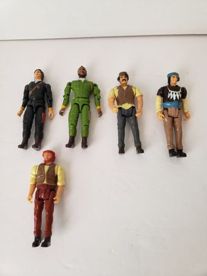 Vintage 1980's galoob a-team action figures for Sale in Peoria, AZ