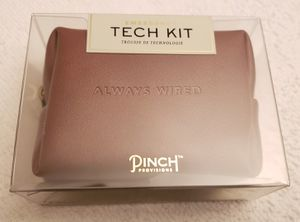 PINCH Wired Emergency Tech Kit in Brown Leather Case - NEW! for Sale in Arlington, VA
