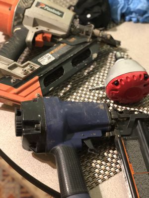 Framing and finishing nail gun palm nailer for Sale in Falls Church, VA