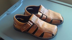 Leather sandals for Sale in Sanger, CA